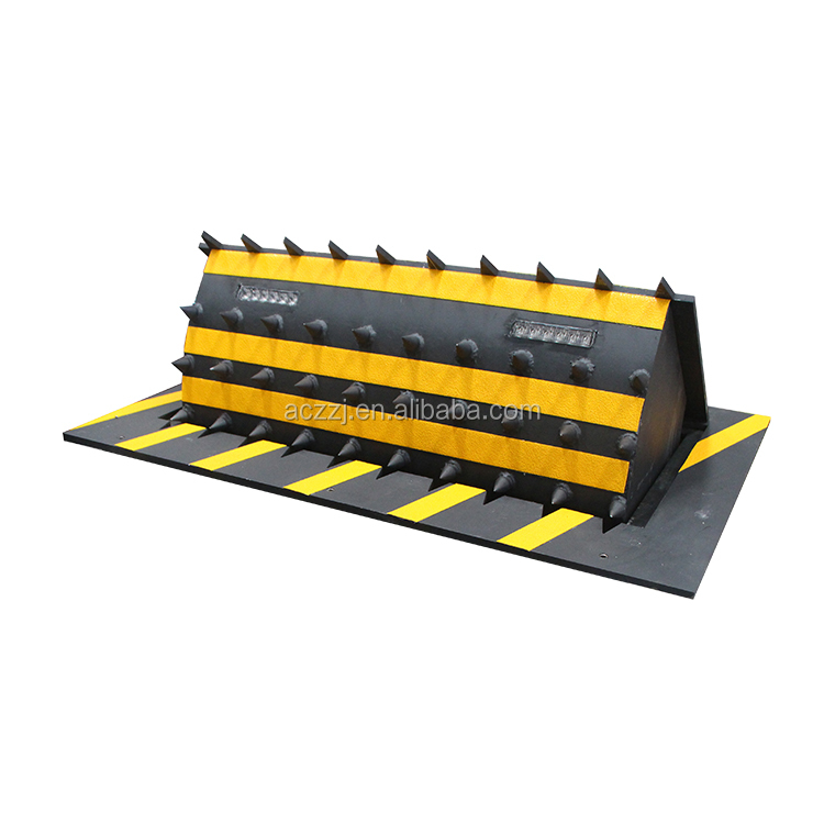 hydraulic car parking space road blocker,automatic parking blockers