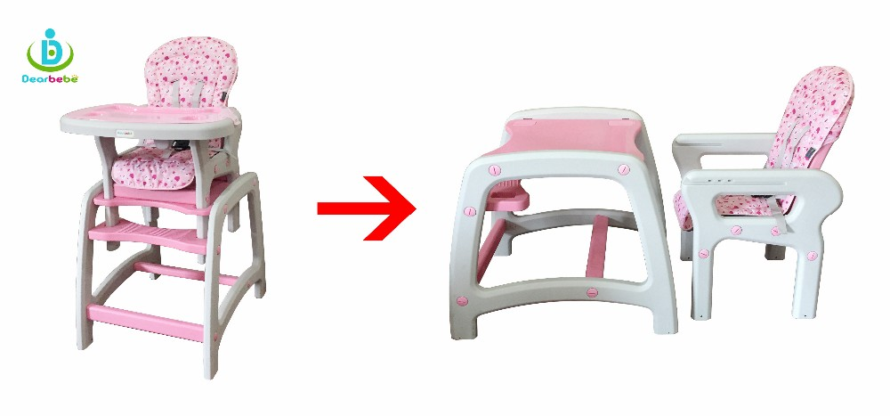 DC01 Pink3 baby high chair.jpg  sc 1 st  Alibaba & Wholesale Plastic High Chairs Children Restaurant Furniture 3 In 1 ...