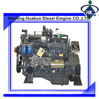1500 or 1800RPM Water Cooled High Efficiency Diesel Engines with competitive price
