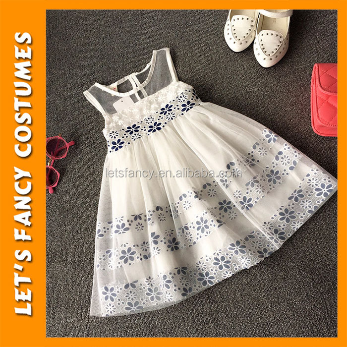 PGCC1112 High Quality Kids Clothes Modern Girls Dresses Girl Party Wear Royal Princess Dress