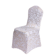 Polyester Spandex Wedding Chair Covers for Weddings Party Banquet Hotel Dining Office Decorative