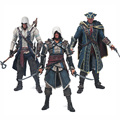 Free Shipping Assassins Creed 4 Black Flag Connor Haytham Kenway Edward Kenway PVC Action Figure Toys