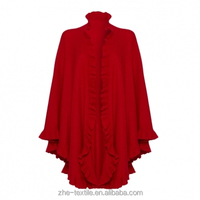 100% pure Cashmere Poncho /wrap/ cape for lady's