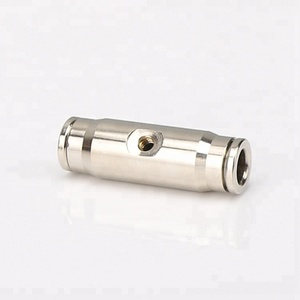 High pressure Straight quick Coupler Push In Fittings for Natural Fog Water Sprayer Mist System