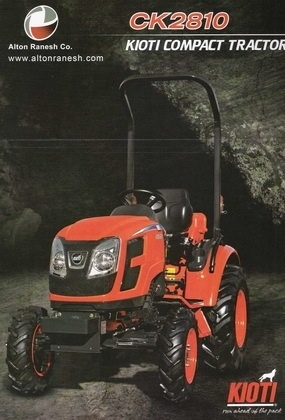 Kioti Compact Tractor - Buy Ck2810 Product on Alibaba com
