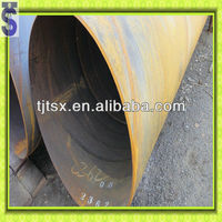 ASTM A53 spiral carbon steel pipe for fluid air gas