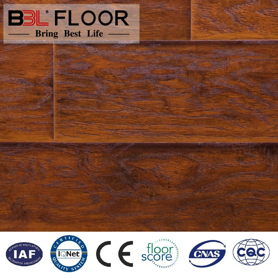 Home decoration canadian oak walnut 14mm laminate flooring