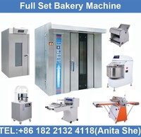 Industrial bread making machines, french bakery equipment, gas convection ovens.