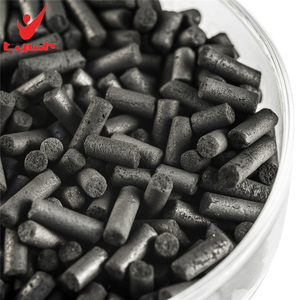 Coal based pelleted activated carbon for toluene removal