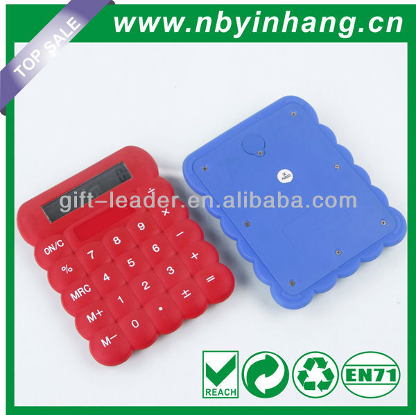 Biscuit shape soft key calculator XSDC0106A