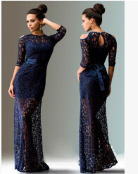 2016 summer style lace transperant 3 colours beach dress Maternity Long lace Dresses Pregnant Photography Props