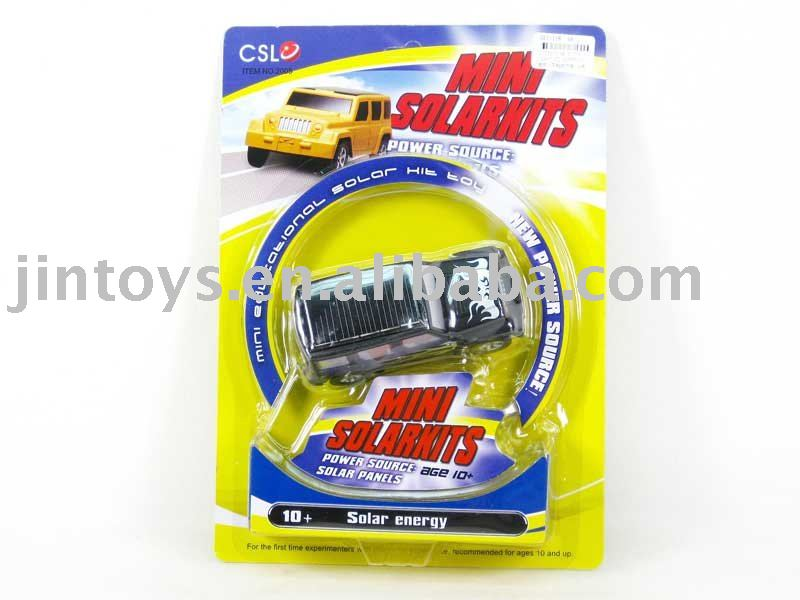 solar toy,4 colors,Mini solar car,with EN71