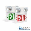 90 Minutes LED 6W Combo Exit Sign Emergency Lamp With Battery