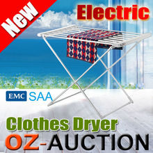 120W Electric Heated Clothes Drying rack Towel Laundry Drying Rack