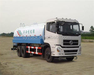 water sprinkler truck Dong Feng 6*4 drive C260hp 25 tons Watering car