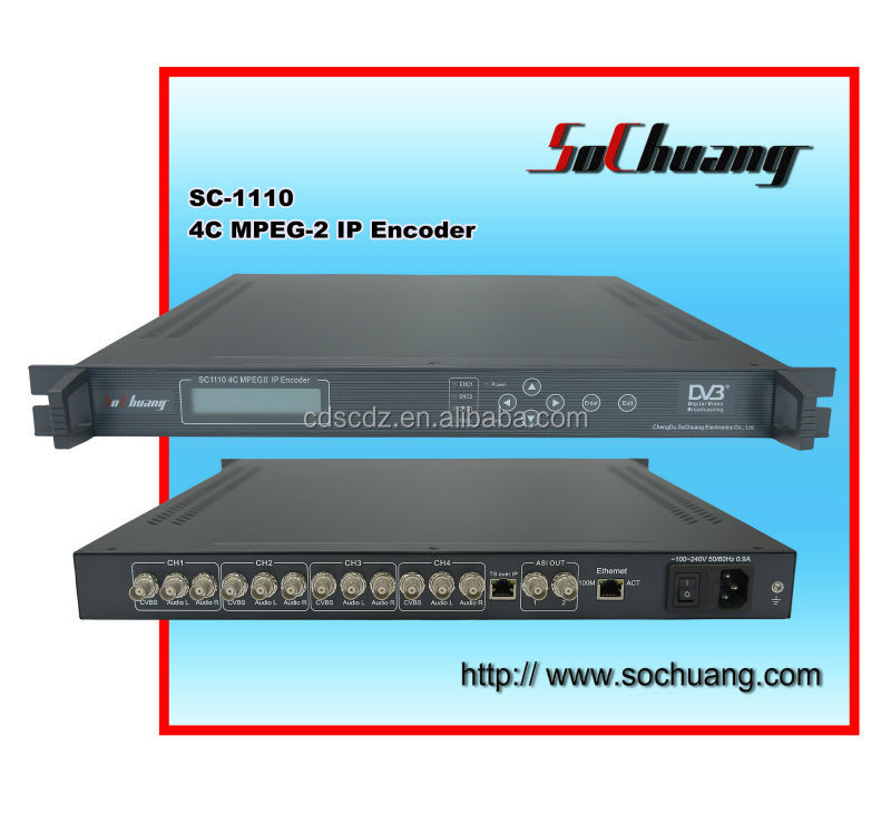 digital tv headend IP Encoder