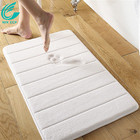 hot sale bathroom washable memory foam bath mats
