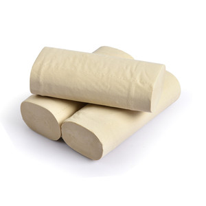 Good Quality Pure Bamboo Pulp Tissue Roll 4-Ply Fragrance Free Toilet Paper