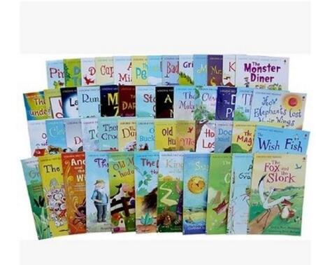 Faithidmarket Usborne My First Reading Library 50 Books Set Collection - Read At Home 2017100326