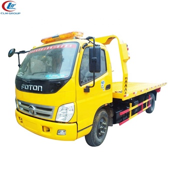 5 Ton Car Carrier Tow Truck Ladder Flatbed Lorry Transport Flatbed