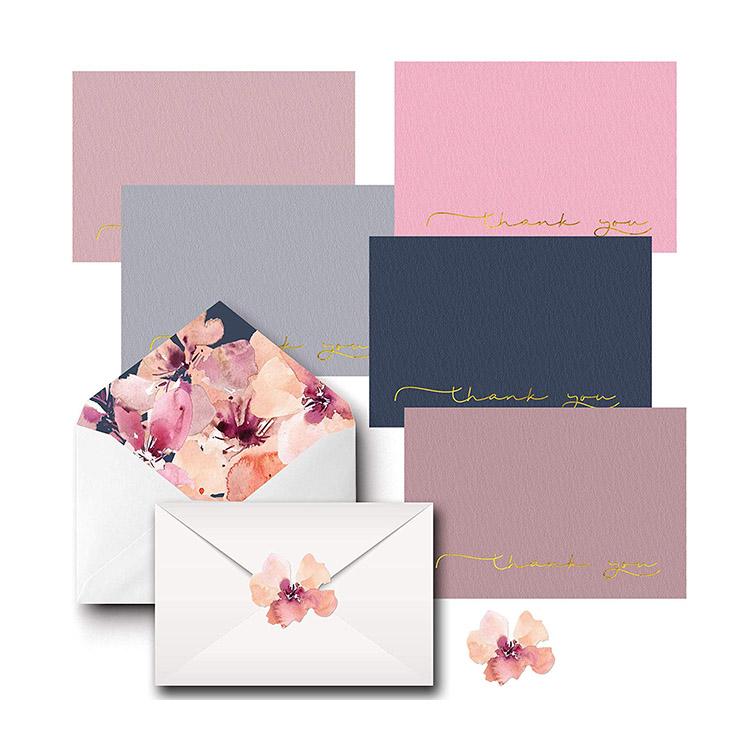 Decorative Envelopes And Matching Birthdays StickersThank You Card Design Wedding, Indian Wedding Card Design