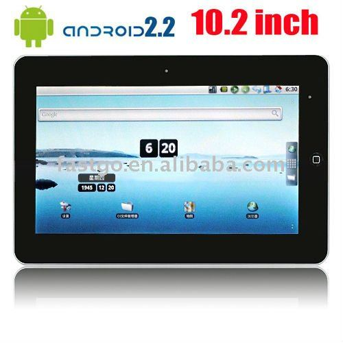 "Supporto lingua araba e sito 10.2"" touch screen metà android 2.1"