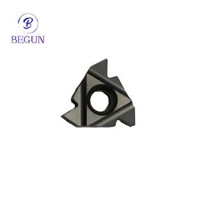 Aluminum Carbide Threading Inserts External Lathe Inserts Cnc Cutting Tools  16ER AG55