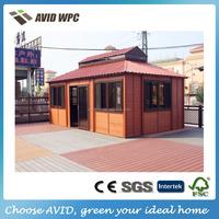 wind protect garden storage wooden house