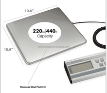 electronic parcel weighing scale with counting