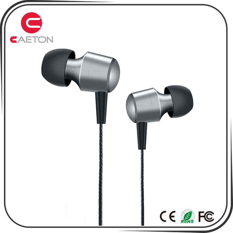 Cheapest sports earbuds metal headset mobile phone headphone