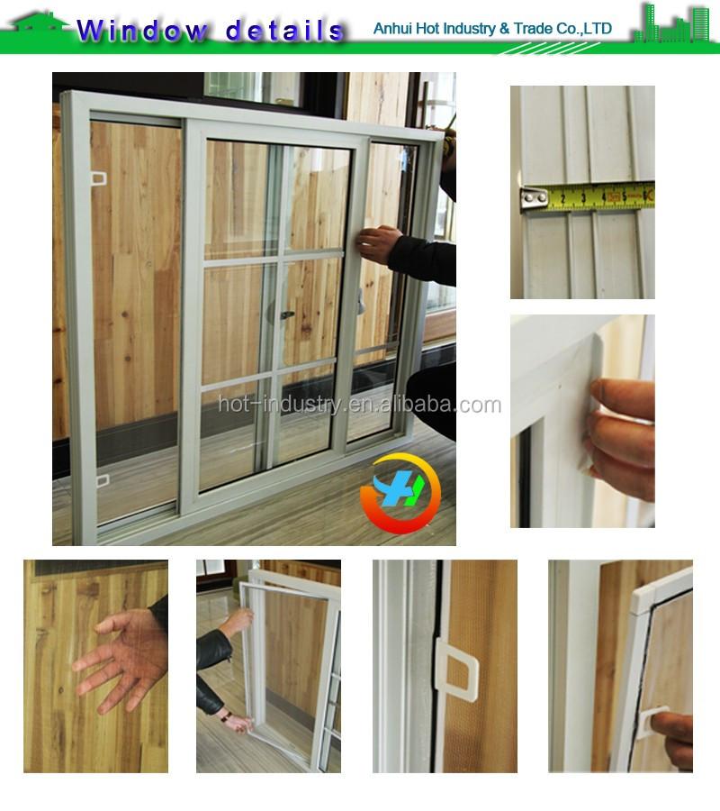 Le Interior Door With Soundproof Rubber Seal Window Panel
