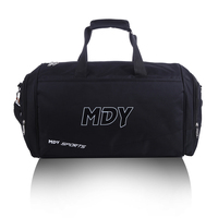 ODM/OEM men gym practical sport custom duffle bag with shoe compartment