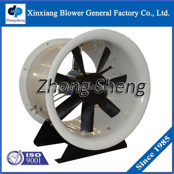 High Efficiency low noise cheap Grain Depot/poultry/warehouse/office/house/in-line tunnel Exhaust Axial Fan for ventilation