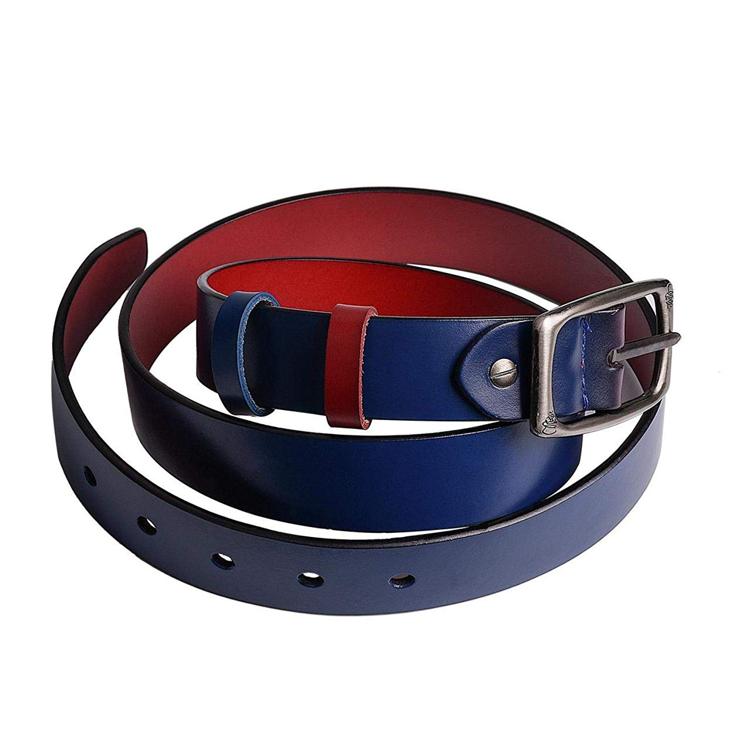 d006989c87 Get Quotations · Reversible Women Western Leather Belt for Jeans Pants  Dress Ladies leather 28mm Belt for Girls with