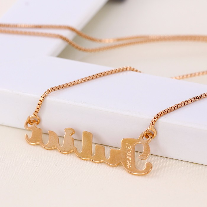 41372 Gold Chain Designs Fashion Dollar Chain Necklace Simple Gold Chain, necklace pendant