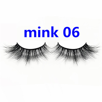 d00a6db6299 Glamour woman 3D mink fur eyelashes thick/natural hot styles false lashes