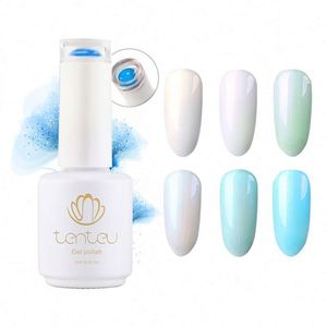 New Design 7ML Pearl Semi Permanent 12 Colors UV LED Long-lasting Gel Nail Polish