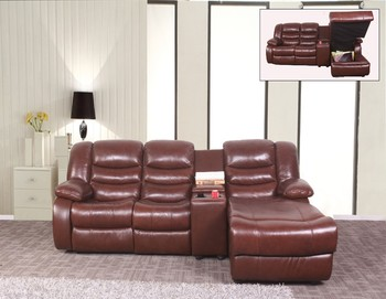 Hot Sale With Storage Corner Sofa Bed Brown Recliner Sectional Sofa - Buy  Corner Sofa Bed,Lazy Sofa Boy Corner Sofa Bed,Brown Recliner Sofa Product  on ...