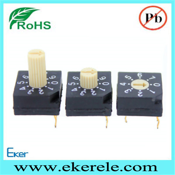 8 Position Rotary Code Switch Interrupteur Programmable