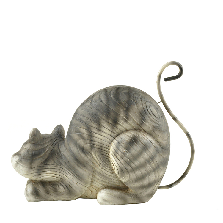 Polyresin Cat Statue,cat Figurine for Home Decorations