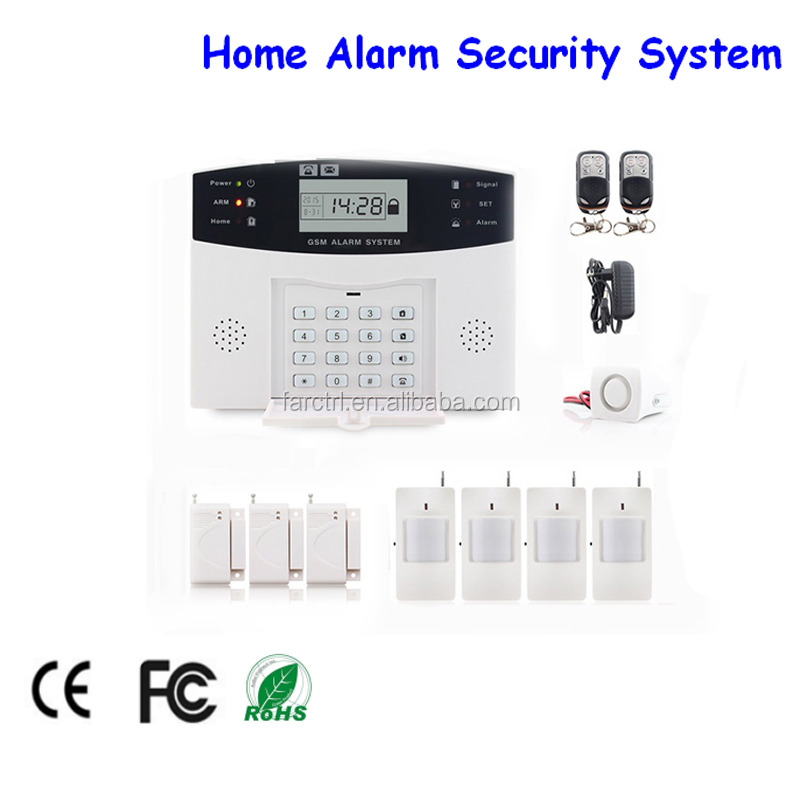 Hot Selling wireless gsm security <strong>alarm</strong> sms alert smoke detector fire <strong>alarm</strong> 24 Hours Zones