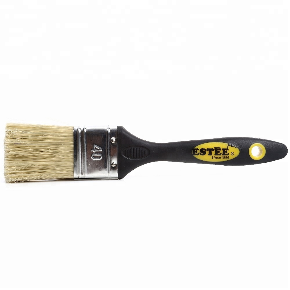 Plastic and Rubber Handle Cleaning PET Wall Paint Brush