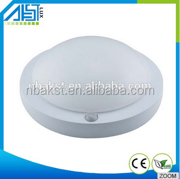 Competitive price 6W PIR Microwave led motion sensor ceiling light