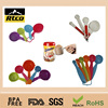New style FDA grade several colors cute plastic measuring spoon in bulk