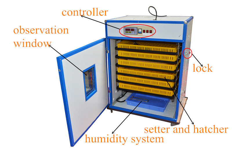 2016 Best Price Automatic 1056 Used Poultry Chicken Eggs Hatchery Incubator  Machine In Uae For Sale - Buy Used Poultry Incubator,Best Egg