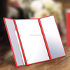 Light up compact mirror/makeup mirror professional/led rectangle cosmetic mirror