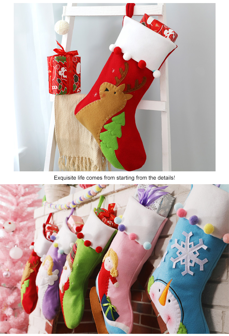 Cheap Personalized Christmas Shoes Ornaments Stocking