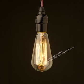 St64 Edison Bulb Pendant Light E27