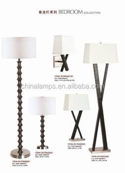 Usa Ul Certification X Shape Black Wooden Floor Lamp For Hotel ...