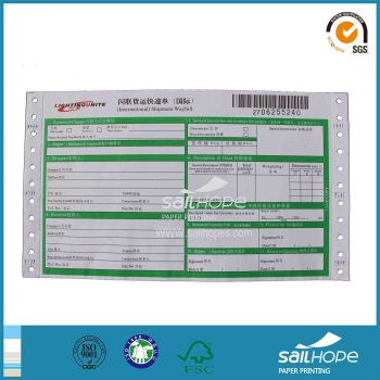 Reliable Consignment Note Printing Paper Direct Factory Price